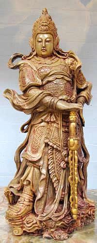 city   buddhas wei tuo bodhisattva