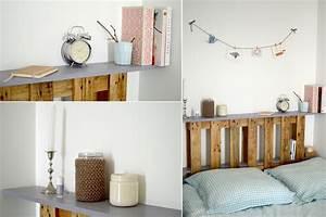 Mur Interieur En Bois De Coffrage : la t te de lit en palette les yeux en amande ~ Premium-room.com Idées de Décoration