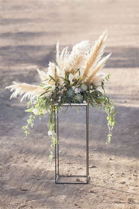ways   pampas grass   wedding weddingomania