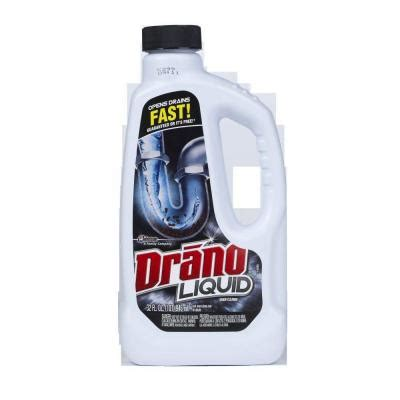 Drano Not Working Bathtub by Drano 32 Oz Liquid Drain Cleaner 12 Pack 00116 The