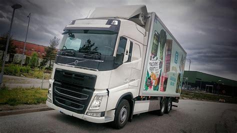 luxury volvo fh   full truck delivery pov