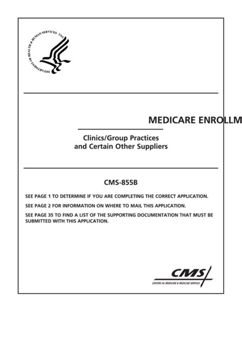 medicare part b forms 855i 206 cms forms and templates free to download in pdf