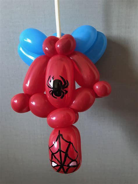spider man balloon germs   balloon animals