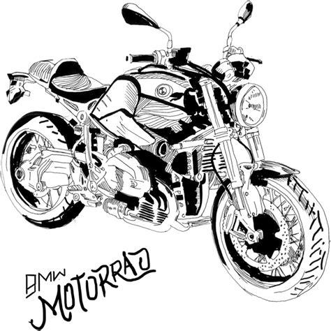 Auto Kleurplaat Getund by Bmw Motorrad Bmw Bmw Motorr 228 Der Bmw Und