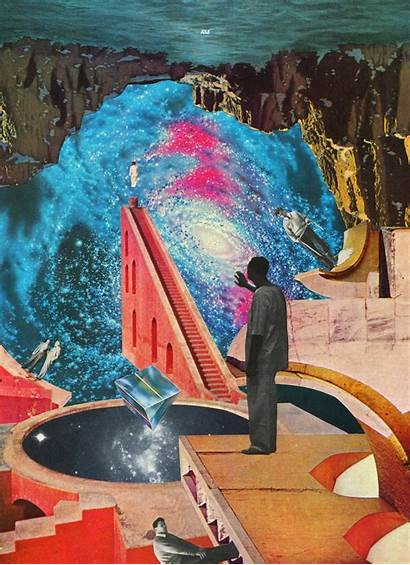 Andrew Collage Surreal Psychedelic Instagram Magazines Mcgranahan