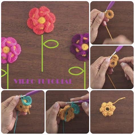 spiegazioni fiori uncinetto fiori a uncinetto