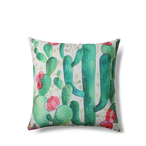 canape lyon coussin à motifs cactus indoor outdoor tropical drawer