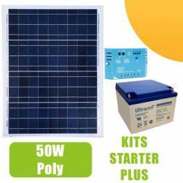 Régulateur Pour Panneau Solaire : kit panneau solaire 50w 12v avec r gulateur 5a et batterie 197 50 starter kits solaires ~ Medecine-chirurgie-esthetiques.com Avis de Voitures