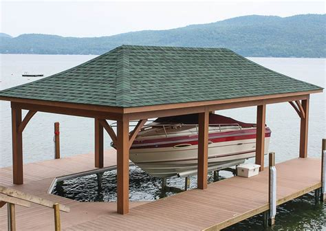 Boat Dock Plans And Designs by Boathouses By The Dock Doctors