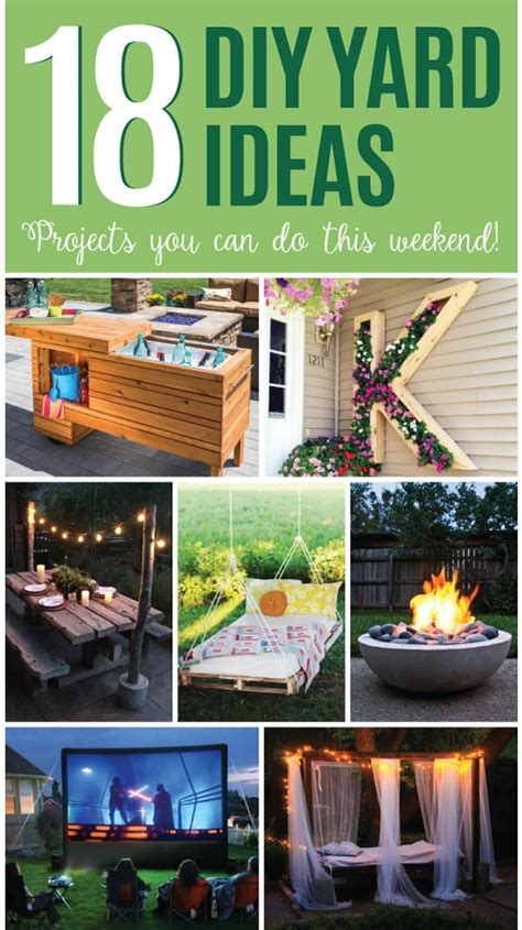 Can You A In Your Backyard by 18 Diy Yard Ideas Backyard Projects You Can Do This
