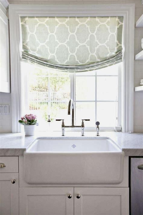 fabric roller shade custom kitchen window valance window treatments design ideas