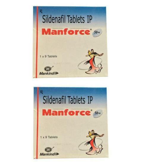 pleasurekart manforce 50mg 18 tablets 50 mg pack of 2