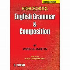 High School English Grammar & Composition By Wren & Martin  (upgraded Format) Buy High School