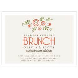 wedding luncheon invitations bunches of wedding brunch invitations paperstyle