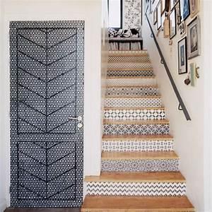Escalier Carreaux De Ciment : carreaux de ciment 17 id es d co originales ciment ~ Dailycaller-alerts.com Idées de Décoration