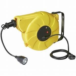 Enrouleur De Cable Electrique : enrouleur c ble lectrique mural automatique box ~ Edinachiropracticcenter.com Idées de Décoration
