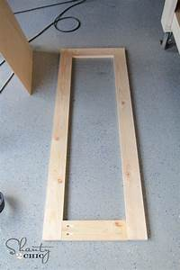 frames for mirrors DIY Rustic Full Length Mirrors! - Shanty 2 Chic
