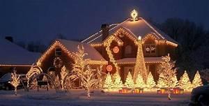 Decoration De Noel Exterieur Lumineuse : d coration maison noel ~ Preciouscoupons.com Idées de Décoration