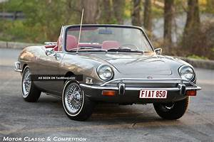 1971 Fiat 850 Spider  And Charismatic  Wire Wheels And