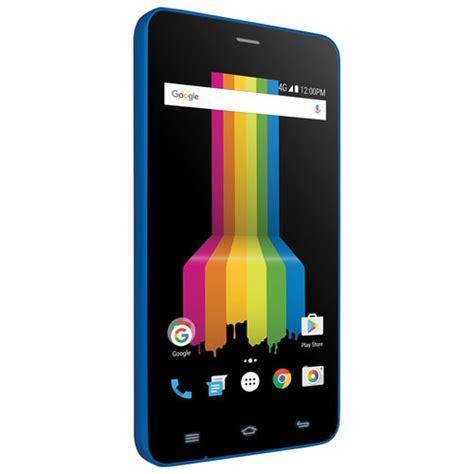polaroid cell phone polaroid link a400 8gb smartphone blue unlocked