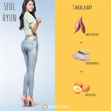 What Do Korean Celebrities Eat During Diet?