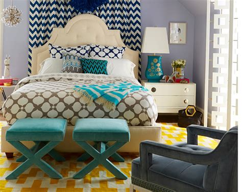 How To Mix And Match Geometric Patterns In The Bedroom