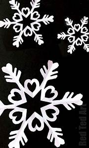 Paper Snowflakes - Six Pointed Snowflakes