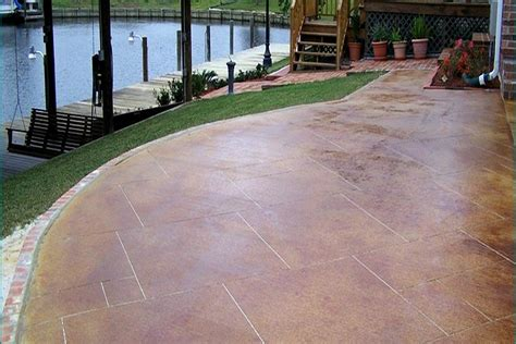 paint a concrete patio ideas landscaping gardening ideas