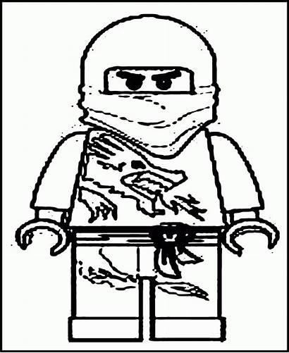 Ninjago Coloring Pages Lego Printable Ninja Kai