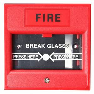 Emergency Door Release Fire Alarm Button Call Point Break Glass Access Control