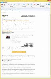 Amazon Bestellung Auf Rechnung : amazon ihre bestellung wurde storniert von support kontakt krug ~ Themetempest.com Abrechnung