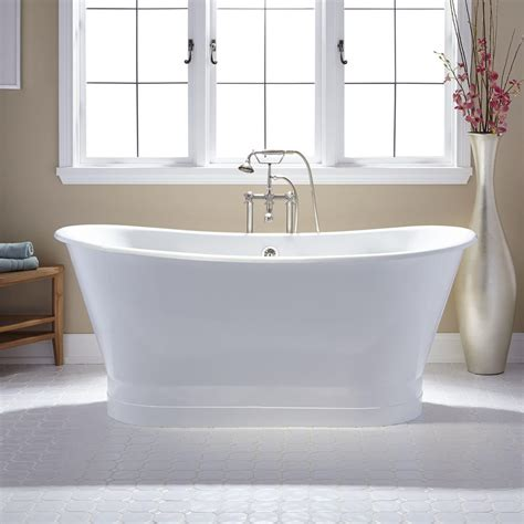 Pedestal Tub by 72 Quot Langly Cast Iron Slipper Pedestal Tub In 2019
