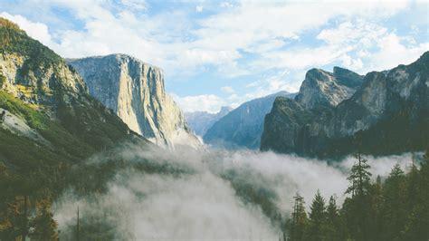 wallpaper yosemite valley el capitan summit california
