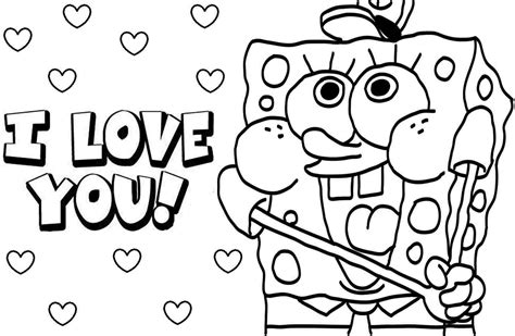 Spongebob Kids Coloring Pages