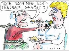 Pflegefeedback von Jan Tomaschoff Philosophie Cartoon