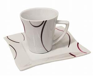 Kaffeeservice 12 Personen Günstig : domestic apollon porzellan kaffeeservice eckig 18 tlg f r 6 personen modern ebay ~ Markanthonyermac.com Haus und Dekorationen