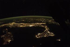 Italy at Night : Image of the Day
