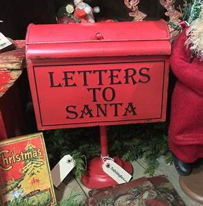 christmas decorations page 10 theholidaybarncom With letters to santa mailbox green