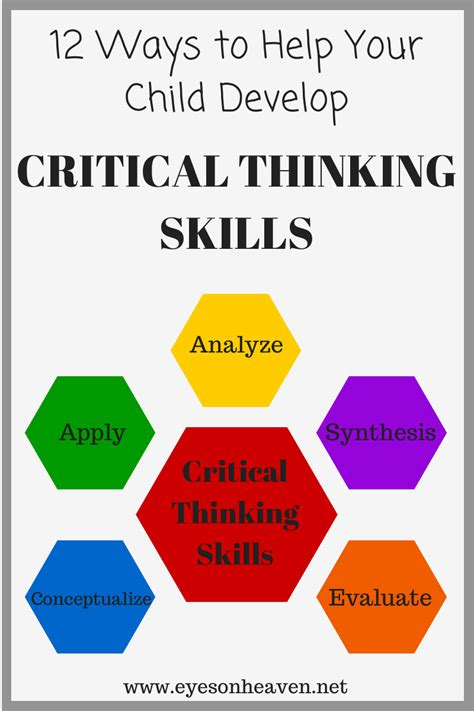Ways To Develop Critical Thinking Skills  Eyes On Heaven