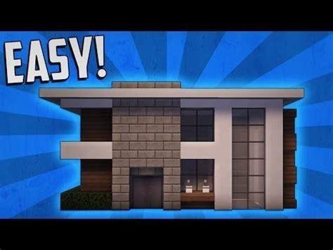 Wie Baut Moderne Häuser In Minecraft by Minecraft Einfaches Modernes Haus Design Minecraft Haus