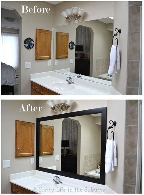 Large Bathroom Mirror Frame by 31 Best Images About Frame Bathroom Mirror On