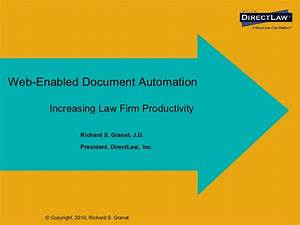 web enabled document automation With document automation law firms