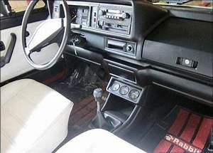 1981 Volkswagen Rabbit Convertible Interior Ii