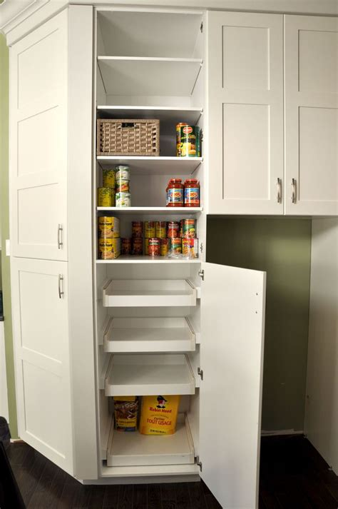 Pull Out Cupboards by Our Cozy Kitchen
