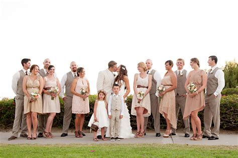 beach themed wedding briana jack wedloft