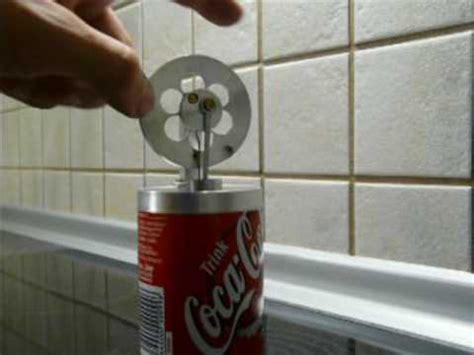 stirlingmotor selber bauen stirling motor in einer coca cola dose