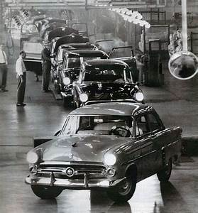1952 Ford Assembly Line