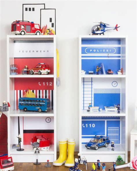 Kinderzimmer Gestalten Polizei dekorationsfolie feuerwache f 252 r spielhaus ikea billy 2019