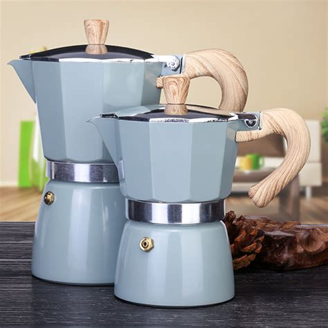 It is better to have a machine with a larger carafe as you don't have to fill it up. 150/300ML Aluminum Italian Stovetop Espresso Coffee Maker,Drip Coffee Percolator Kettle, Stove ...