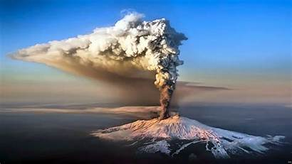 Volcano Eruption Change Climate Volcanic Wallpapers Etna
